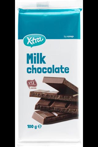 Xtra 100g milk chocolate