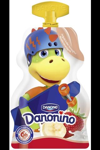 Danone Danonino GO! mansikka-banaanijogurtti 70g