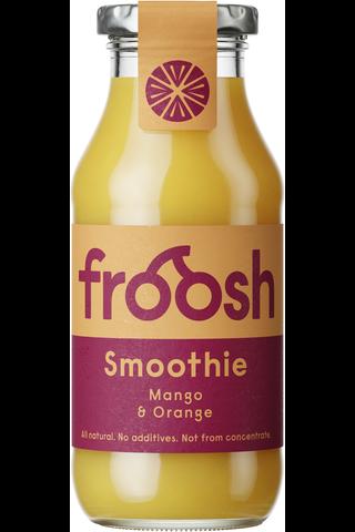 Fazer Froosh Hedelmäsmoothie 250 ml Mango ja Appelsiini
