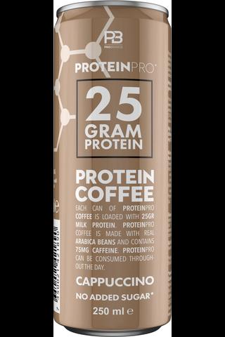 FCB Probrands proteiinikahvi cappucino 250ml