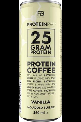FCB proteiinikahvi 250ml vanilja
