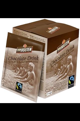 Van Houten 10x25g Choco Drink, Reilun kaupan pika kaakaojuomajauhe