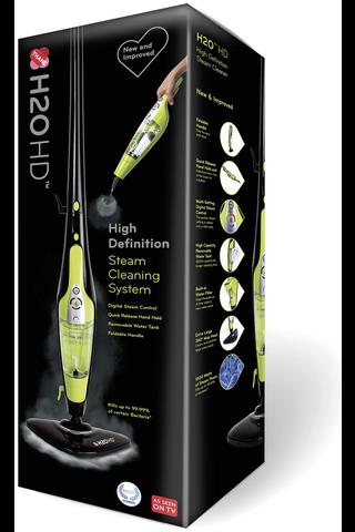 Tvins H2O Mop HD höyrymoppi