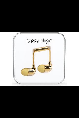 Happy Plugs in-ear nappikuulokkeet, Gold