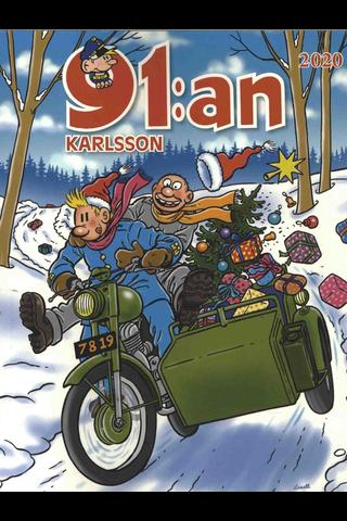 91:an Karlsson Julalbum, kirja