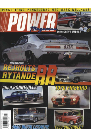 Power Magazine aikakauslehti