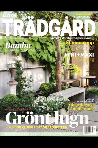 Allt om Trädgård aikakauslehti