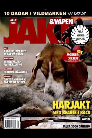 Allt om Jakt & Vapen aikakauslehti