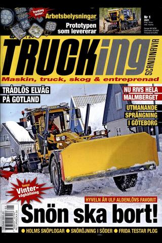 Trucking Scandinavia aikakauslehti