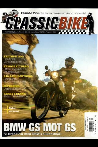 Classic Bike (Swe) aikakauslehti