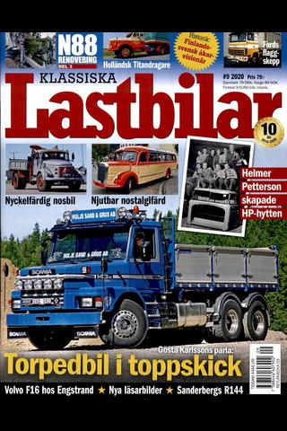 Klassiska Lastbilar aikakauslehti
