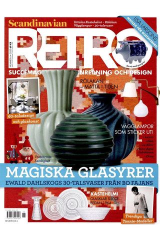 Scandinavian Retro aikakauslehdet