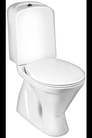 Gustavsberg WC-istuin Nordic³ 3500 piilo S-lukko istuinkorkeus 430 mm