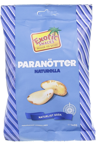 Exotic Snacks Parapähkinä naturel 140g