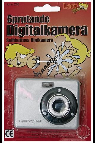 Suihkuttava digikamera