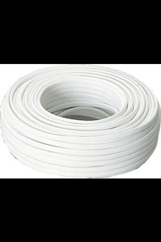 Asennuskaapeli 2x6mm 50m valkoinen
