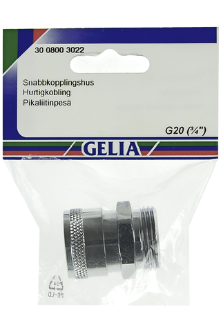 Gelia pikaliitinpesä ulkokierre R20 kromattu