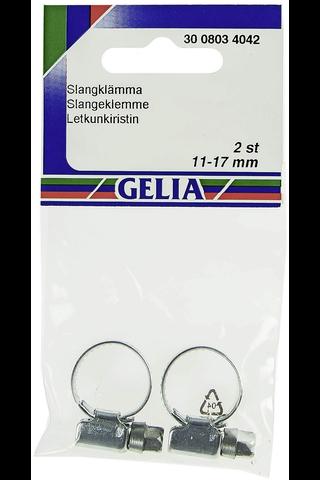 Gelia letkunkiristin galvanoitu 11-17mm/9mm 2kpl