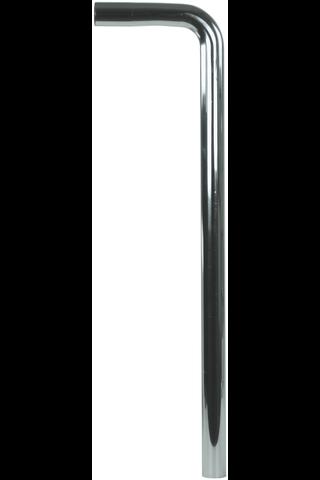 Gelia lattiaputki vesilukolle 150x160mm kromattu