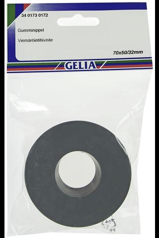 Gelia viemäröintitiiviste 70x50/32mm musta