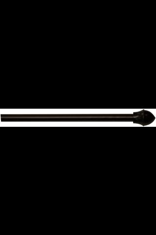 Hasta Café verhotanko musta 12mm 125-220cm
