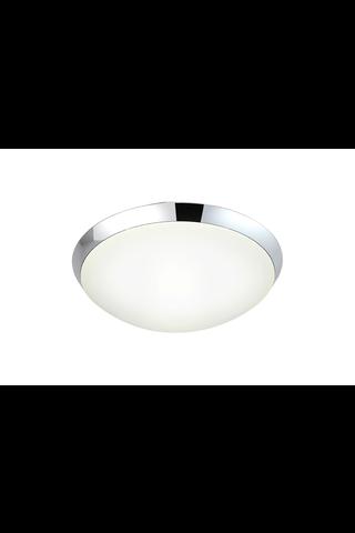 Aneta Siracusa led kylpyhuoneen ip44 kattoplafondi valkoinen lasi -kromi 230 v