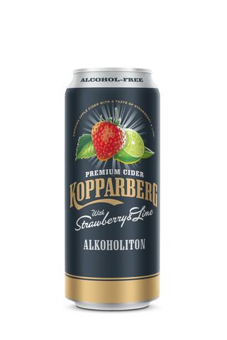 KOPPARBERG 0,5L Strawberry & Lime Alkoholiton siideri tölkki