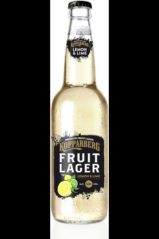 Kopparberg 0,33l Fruit lager 5,0% sitruuna & lime olut pullo