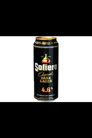 Sofiero Tumma 0,5L Lager olut 4,6% olut