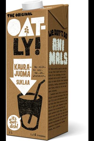 Oatly Kaurajuoma Suklaa 1L