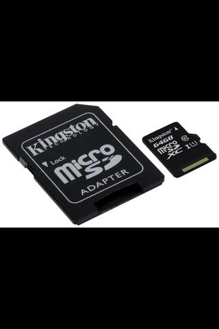 Kingston Canvas Select MicroSd muistikortti 64GB