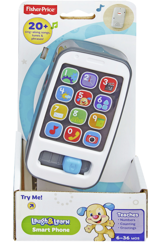 Fisher Price Laugh & Learn Smart Phone älypuhelinlelu suomenkielinen 6kk+
