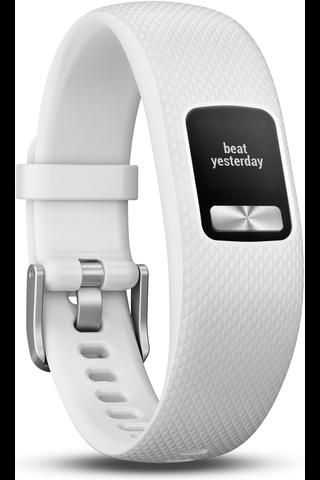 Garmin aktiivisuusranneke Vivofit 4 valkoinen M