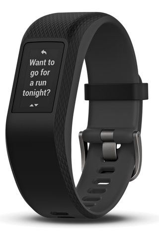 Garmin Vivosport GPS-aktiivisuusranneke L harmaa