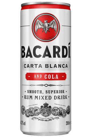 Bacardi Cola 4,7% 25 cl tlk juomasekoitus