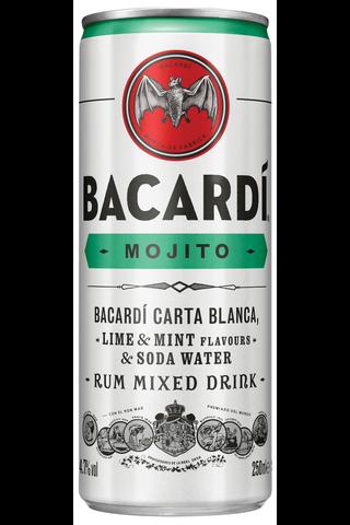Bacardi Mojito 4,7% 25 cl tlk juomasekoitus