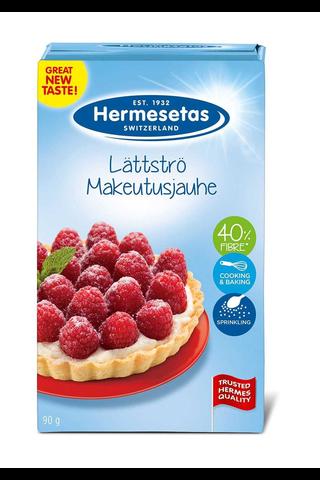 Hermesetas 90g täyttöpaketti makeutusjauhe