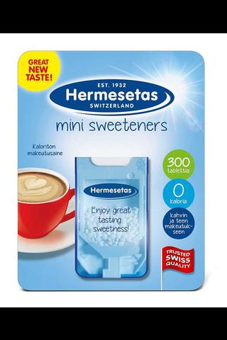 Hermesetas 300kpl Mini Sweeteners pöytämakeutusainetabletti