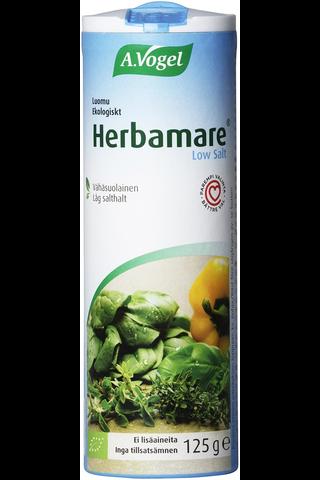 Herbamare® Low Salt 125g luomu yrttisuola