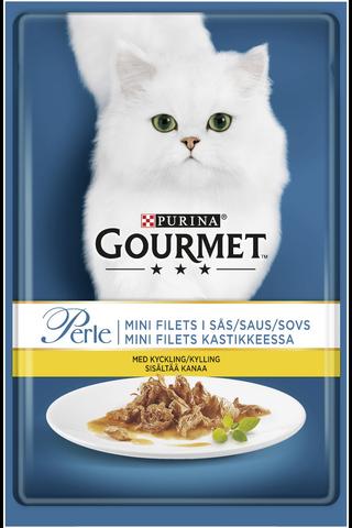 Gourmet 85g Perle Kanaa Mini Filets kastikkeessa kissanruoka