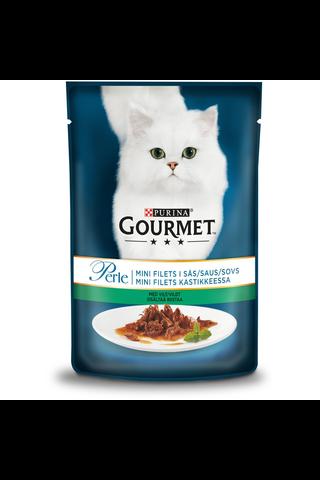 Gourmet 85g Perle Riistaa Mini Filets kastikkeessa kissanruoka