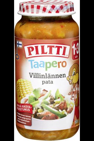 Piltti Taapero 250g Villinlännenpata lastenateria 1-3v