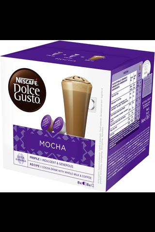 Nescafé Dolce Gusto 16kaps/216g Mocha mokkakahvikapseli