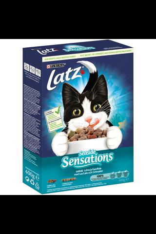 Latz 400g Seaside Sensations Lohta ja makuna Kasviksia kissanruoka