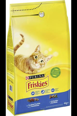 Friskies 4kg Adult Tonnikalaa ja Kasviksia kissanruoka