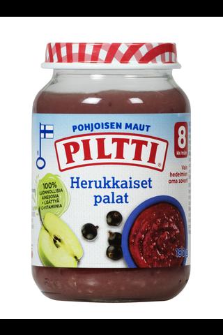 Piltti Pohjoisen maut 190g Herukkaiset palat jälkiruoka 8kk