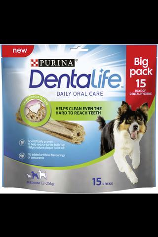 Purina Dentalife 345g Medium Big Pack koiran dental-herkku