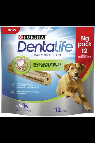 Purina Dentalife 426g Large Big Pack koiran dental-herkku