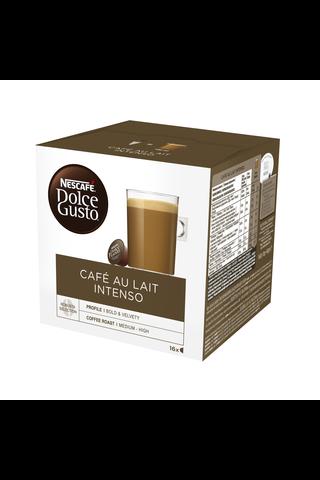 Nescafé Dolce Gusto 16kaps/160g Café au Lait Intenso maitokahvikapseli