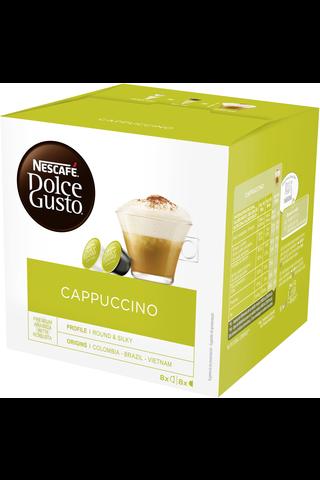Nescafé Dolce Gusto 186,4g Cappuccino maitokahvikapseli 16kpl